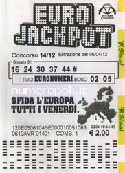 Euro Jackpot Quote